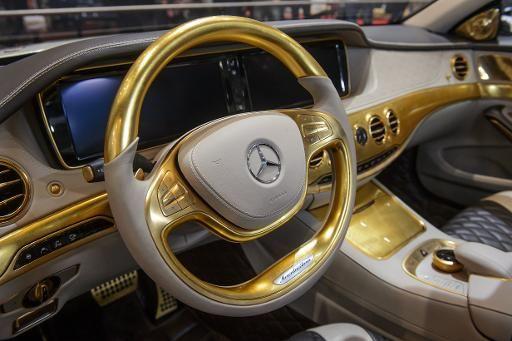 Salon de Genève : Une voiture en or ! – Actualités Insolite