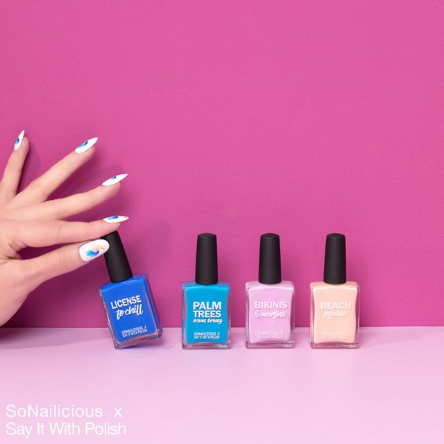 x Say It With Polish Collection is Here! Amazing bright nail polishes! Cruelty free, vegan, 5-free ♥ SoNailicious x say it with polish limited edition collection