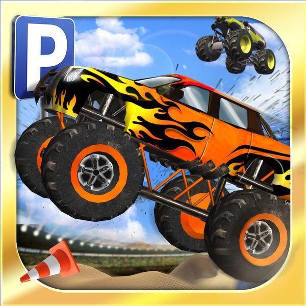 Download IPA / APK of Monster Truck Parking Simulator  Real Car Driving Test Run Sim Racing Games for Free - http://ipapkfree.download/6261/