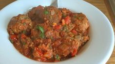 You can cook this easy canned mackerel recipe and make a healthy Italian-style meatball dish. Canned mackerel is nutritious and a great source of Omega 3's.