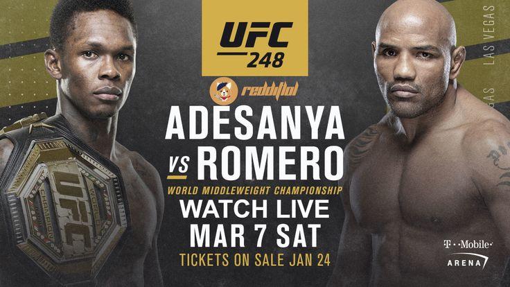 Watch UFC 248 Adesanya vs Romero Reddit MMA Streams 7 Mar