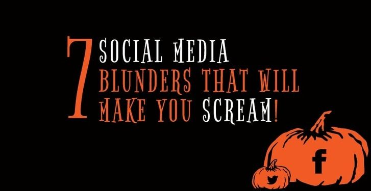 Seven #SocialMedia Blunders That Will Make You Scream | Titan Web Marketing Solutions
