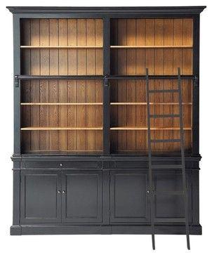 Versailles Bookcase - traditional - bookcases cabinets and computer armoires - Maisons du Monde - this would be incredible!