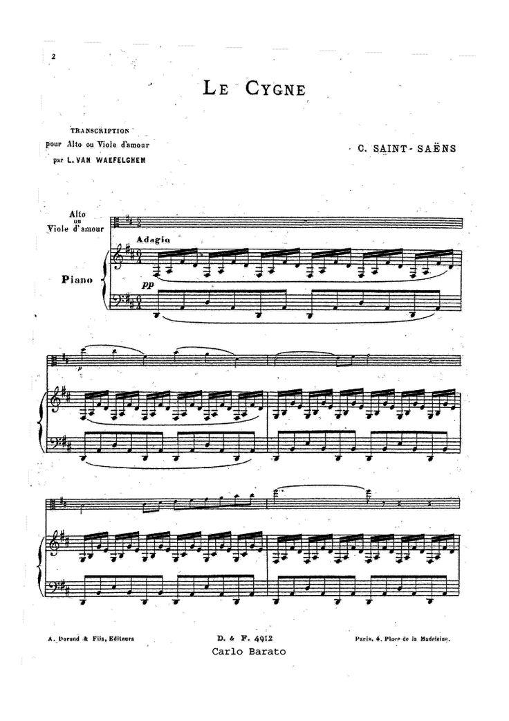 Le carnaval des animaux (Saint-Saëns, Camille) - IMSLP/Petrucci Music Library: Free Public Domain Sheet Music