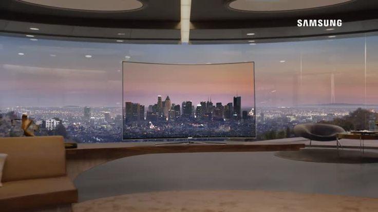 Telewizor Samsung SUHD - elegancki design
