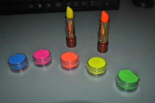 Colors,Fluor,Make up,Meirf,Neon - inspiring picture on PicShip.com