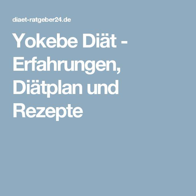 Yokebe Diät - Erfahrungen, Diätplan und Rezepte