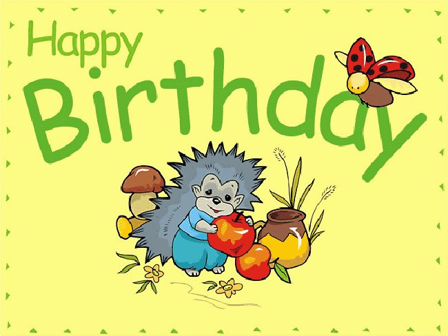 Happy Birthday Cards Pictures Animal
