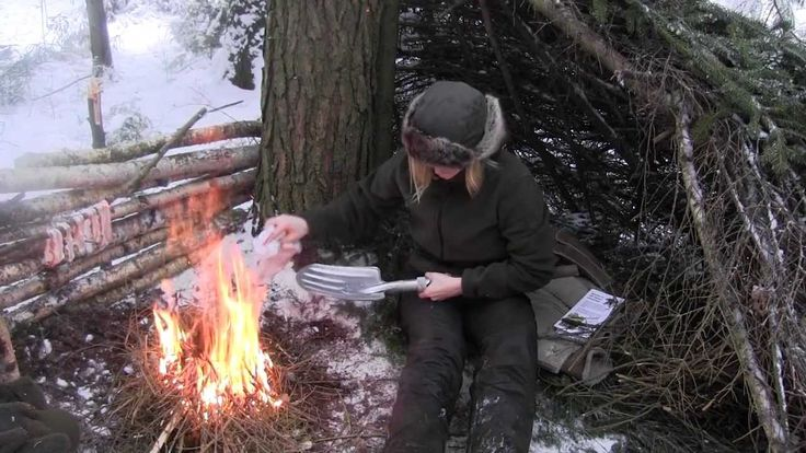 Improving A Lean To Shelter In Wintertime