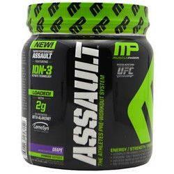 From Michael, Mike and Frank - there top pre-workout sup #MusclePharm Assault. On sale at DPS Nutrition for only $27.99
