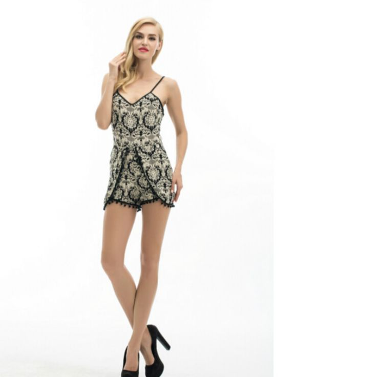 New Summer Women Backless  Evening Playsuit Casual Mini Bodycon Playsuit. Yesterday's price: US $6.46 (5.24 EUR). Today's price: US $5.36 (4.35 EUR). Discount: 17%.