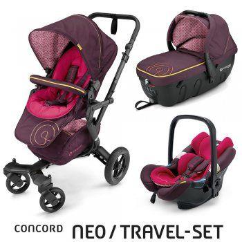 Concord Neo Travel-Set - ROSE PINK - 2016 bei kiddies24.de