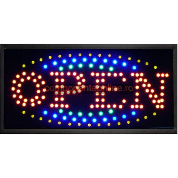 Afisaj cu LED-uri, afisaj Open - 113627