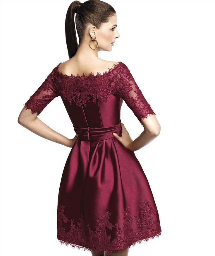 Pronovias Narima dress http://lamariee.hu/menyasszonyi-ruha-kollekciok/alkalmi-ruhak/pronovias-koktelruhak-2015