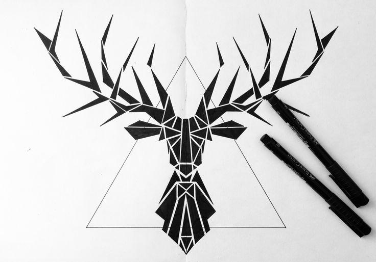 Хипстер олень, deer, Hirsch, Hipsterhirsch