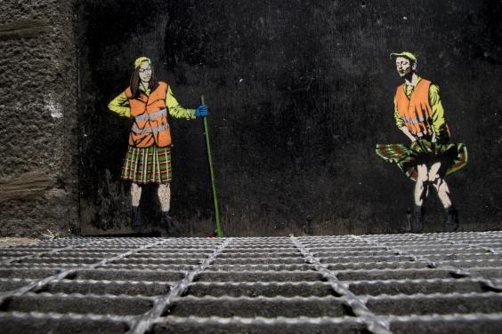 The Independent.co.uk - Aberdeen: Scotland's oil powerhouse finds it street art soul