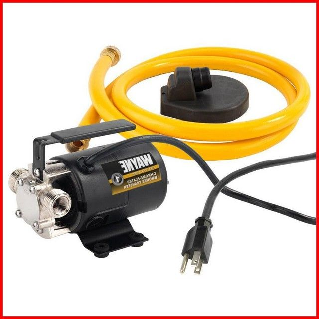 110 Volt Garden Hose Pump In 2020 Garden Hose Water Pumps Pool Cover Pump