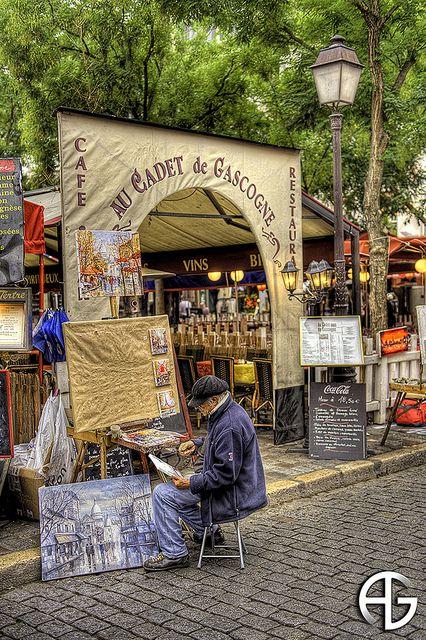 Peintre de Montmartre,Paris,France