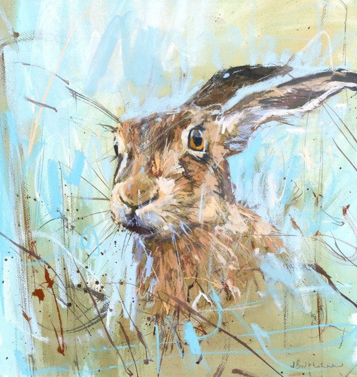 Summer Hare by James Bartholomew. Used as inspiration in TAQ Summer School