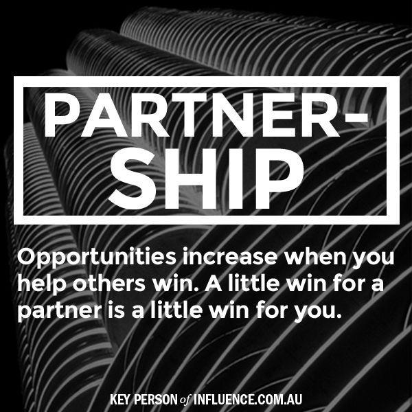 Business Partnership Quotes Inspirational. QuotesGram