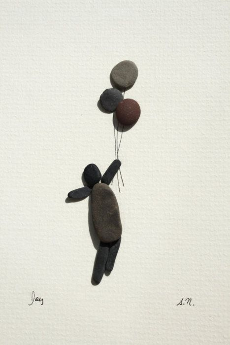 sharon nowlan pebble art - Google Search