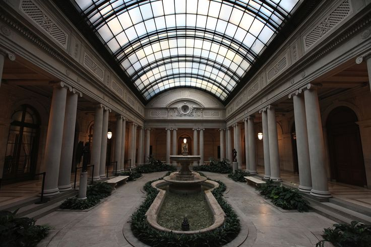 The opulent residence that houses a private collection of great masters (from the 14th through the 19th centuries) was originally built for industrialist Henry Clay...
