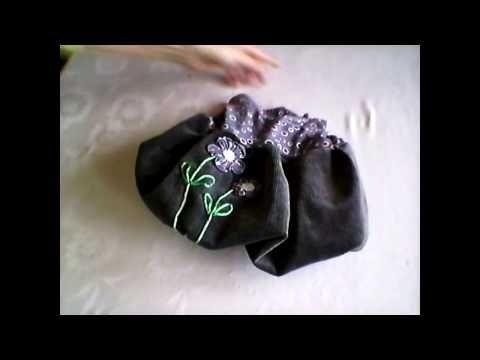 Kanzashi application on balloon skirt tutorial/ kanzashi flower application - tutorial for  begginers/kanzashi  textilní aplikace na balonovou sukni/ šití pro yačátečníky Videa  - YouTube