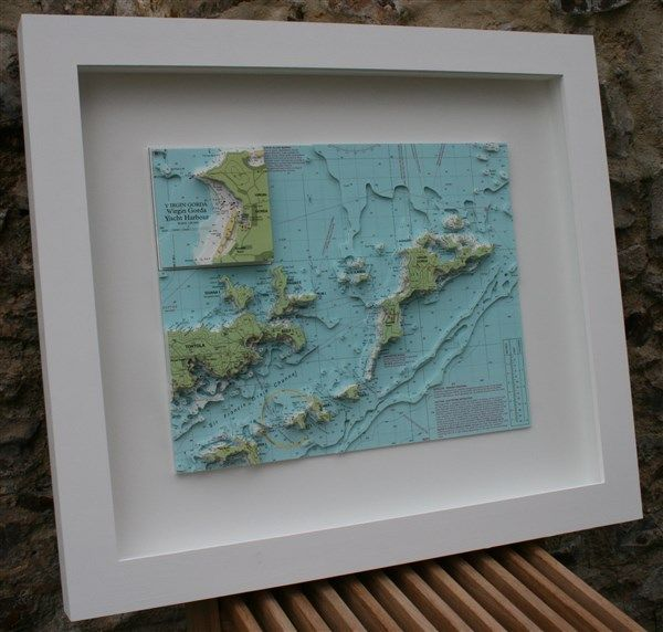 Buy Nautical Chart Art