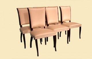 Cream colour dining chairs