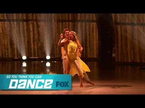Jessica & Casey: Top 14 Perform | SO YOU THINK YOU CAN DANCE | FOX BROADCASTING