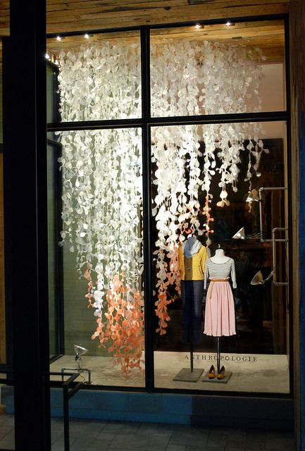 Anthropologie Holiday 2011 Windows