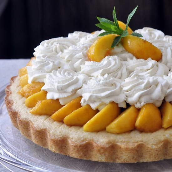 Brandied Peach Cream Cheese Shortcake - summer fresh, ripe peaches never tasted better than in this boozy shortcake version that gets added moistness from cream cheese in the shortcake batter. Delicious without the brandy too.: Desserts, Rocks Recipes, Boozi Shortcake, Creamche, Brandy Peaches, Peach Cream Cheeses, Peaches Cream Cheese, Butter Cream, Cheese Shortcake