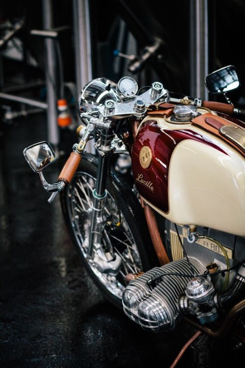 BMW R80 Cafe Racer #motorcycles #caferacer #motos | caferacerpasion.com