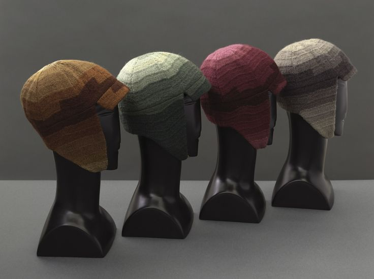 wool embroidery. drivingcaps1924-8