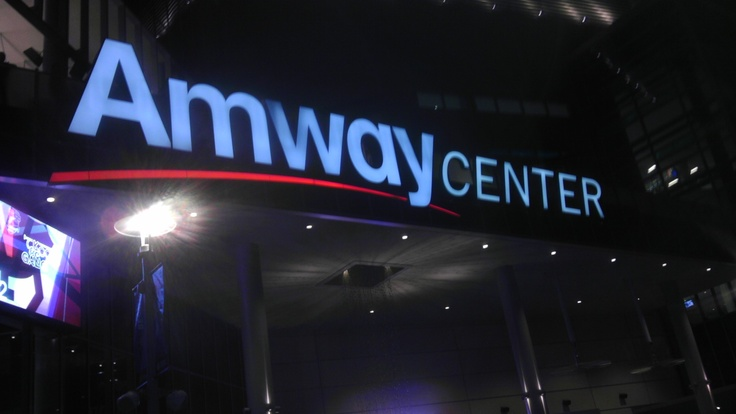 The Amway Center Rocks!