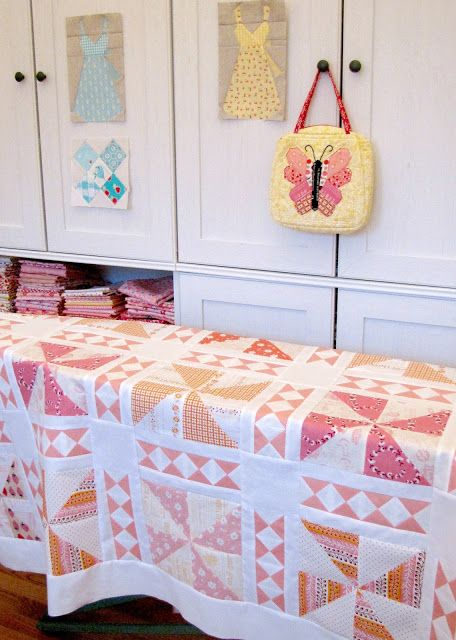 Charise Creates: Parfait Quilt from The Cake Mix Quilt Along