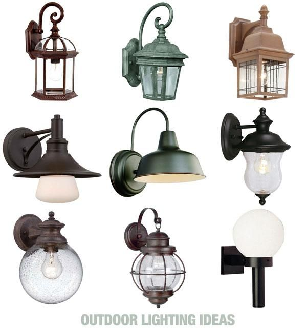 Need to replace the light on your front porch? These are some of our favorite wall-mounted outdoor light fixtures! #lighting