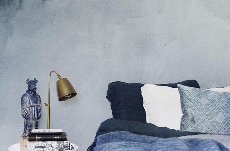 Watercolour Blue by LEMON | Photowall