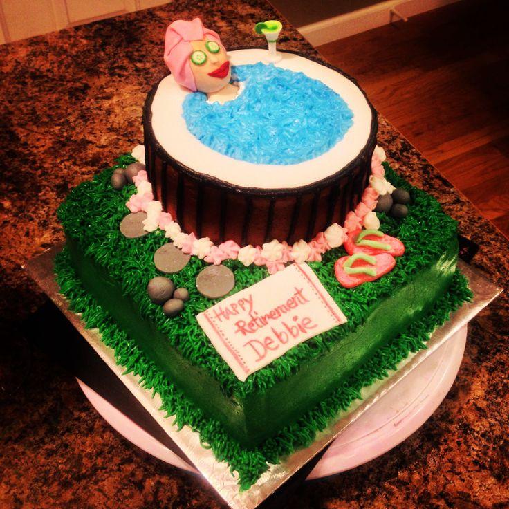 Cake Decoration Ideas Retirement : 63 best images about Retirement cake ideas on Pinterest Retirement cakes, Retirement parties ...