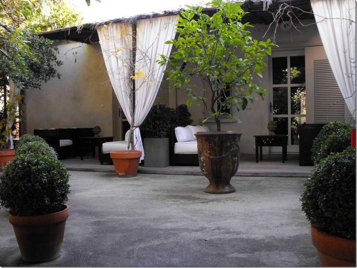 Garden Ideas Concrete Yard top 25+ best concrete backyard ideas on pinterest | concrete deck