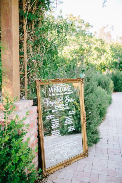 Mirror: http://www.stylemepretty.com/california-weddings/arroyo-grande-california/2015/04/06/vintage-boho-arroyo-grande-garden-wedding/ | Photography: Mirelle Carmichael - http://www.mirellecarmichael.com/