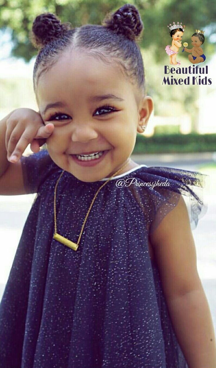 mixed little girl hairstyles