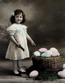 cute little girl ~ Easter photo