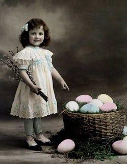 cute little girl ~ Easter photo