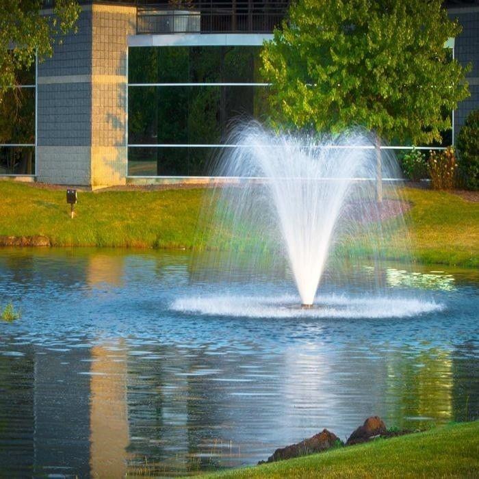 Scott Aerator Da 20 Display Fountain Aerator 1 5hp 230v Scottaerator Pond Fountains Fountain Aerator