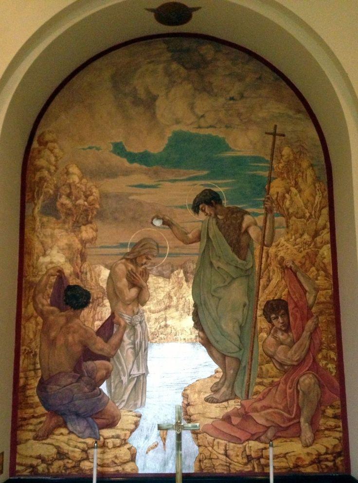 Baptism Of Jesus - Jan Henryk de Rosen (February 25, 1891 – August 22, 1982)
