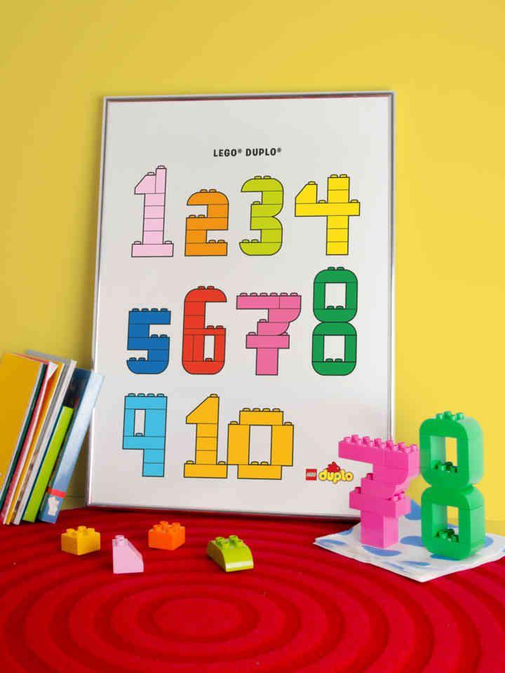 Zahlen zu bauen ist so leicht, wie bis 3 zu zählen. - Artikel - Family LEGO.com