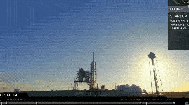 technewsshop.com SpaceX lanza con éxito el tercer Falcon 9 en menos de 2 semanas