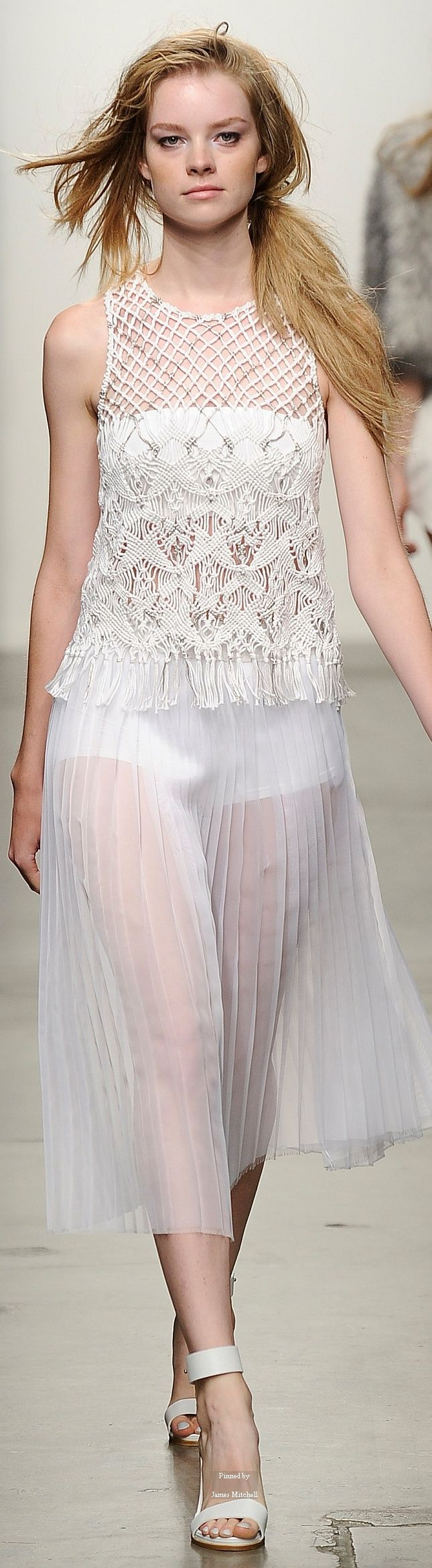 Tess Giberson Spring Summer 2015 Ready-To-Wear collection