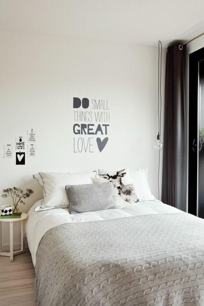 44 wunderschöne Wandtattoos für das Schlafzimmer Archzine